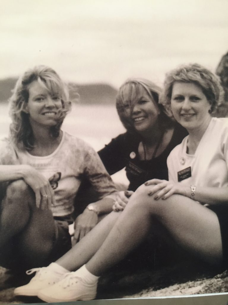 China Beach with other Gold Star Daughters, Cammie & Kelly. Or as we were most often called: Sister Candyasses.