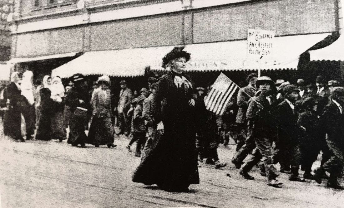 Follow the Example of Mother Jones